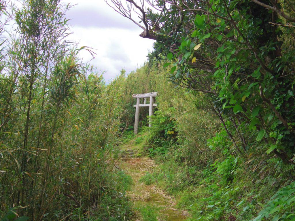 大里神社の鳥居