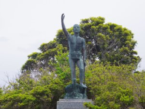 佐々木次郎太夫の銅像