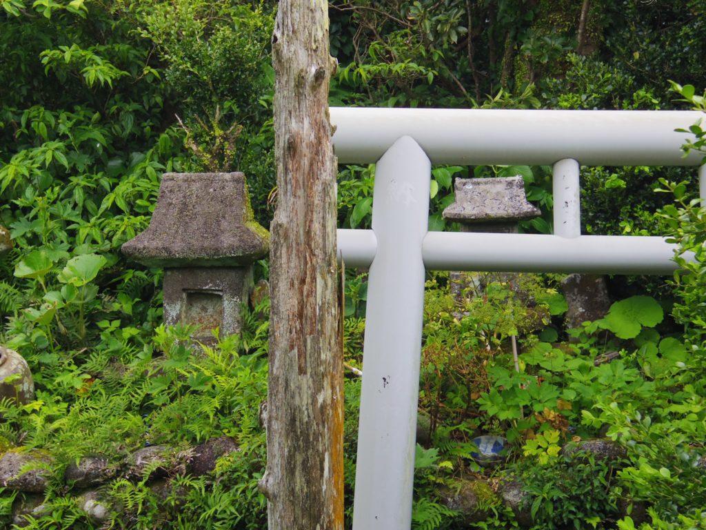 大里神社の中