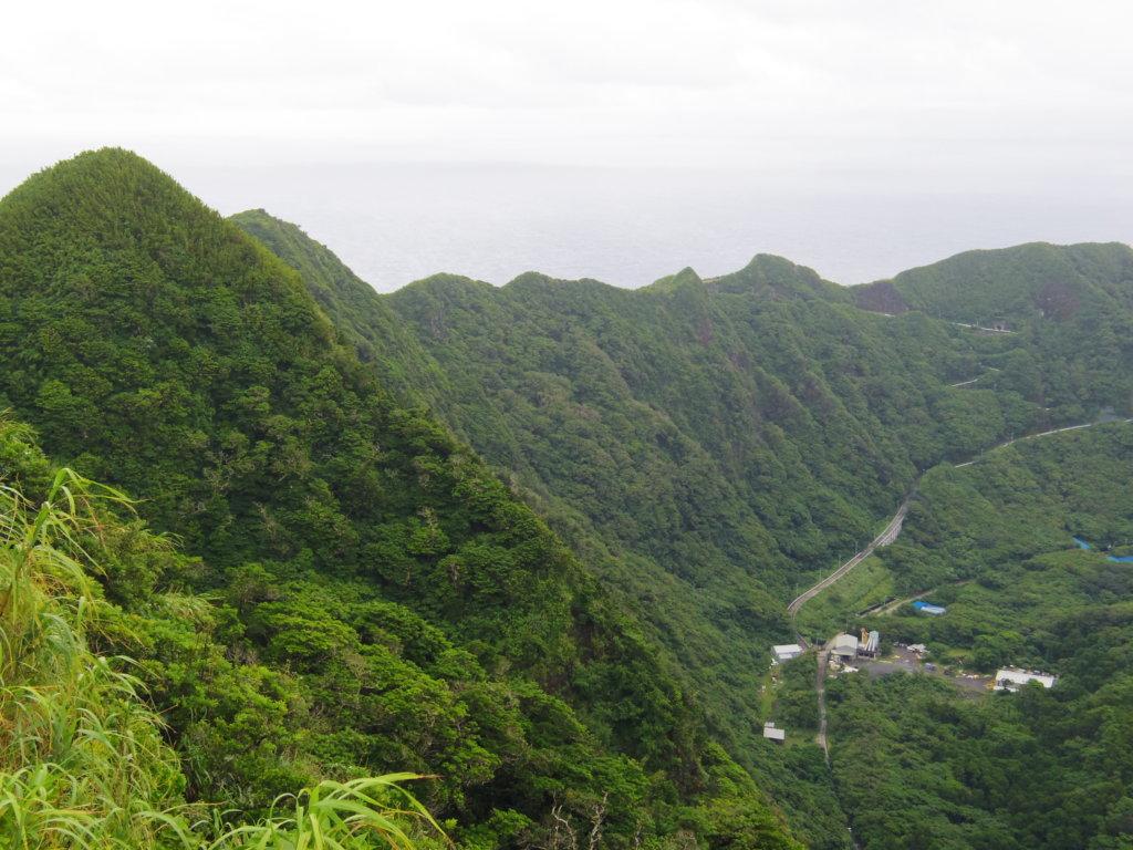大凸部公園から左側の眺め