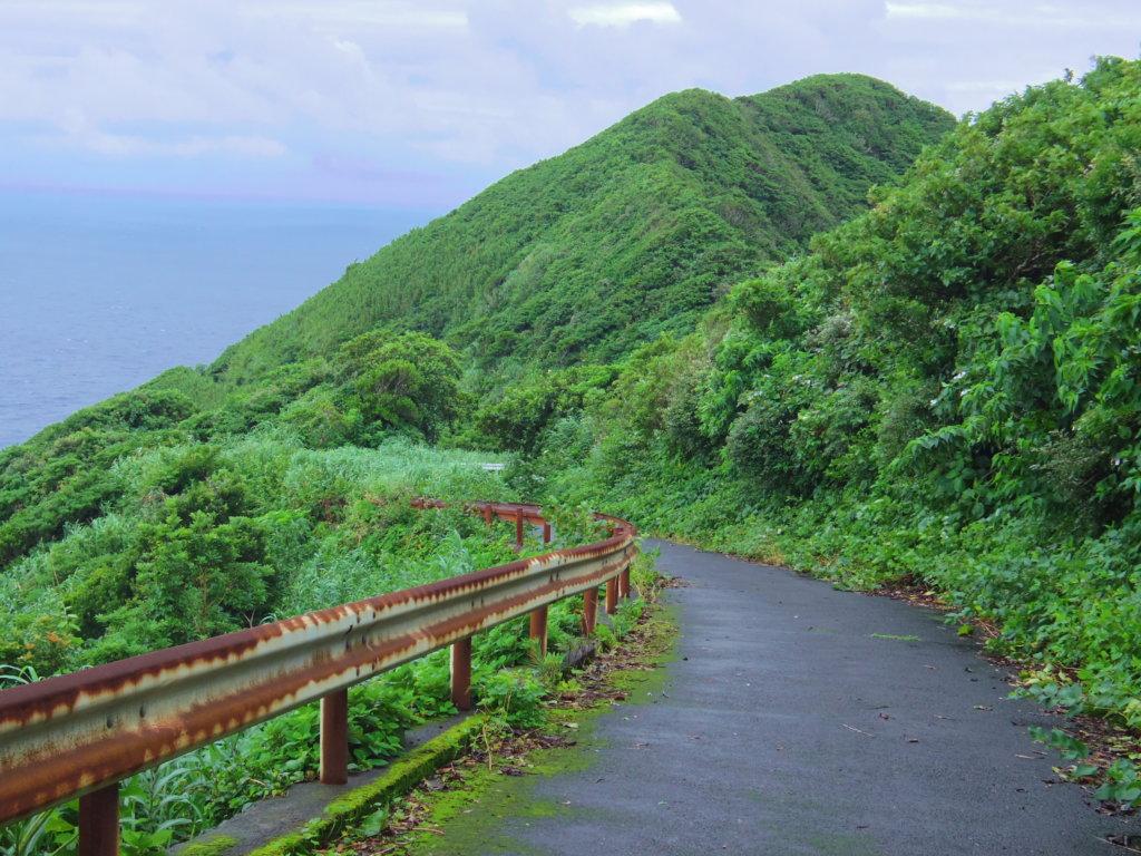 大千代港への道②