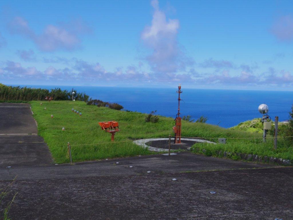 青ヶ島ヘリポートからの眺め