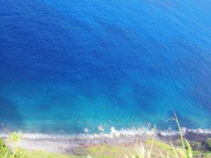 神子ノ浦からの海岸線
