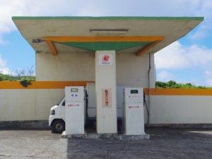 青ヶ島ガソリンスタンド