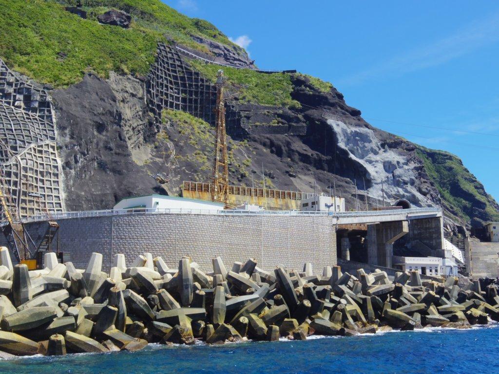 新堤防からの青翔橋