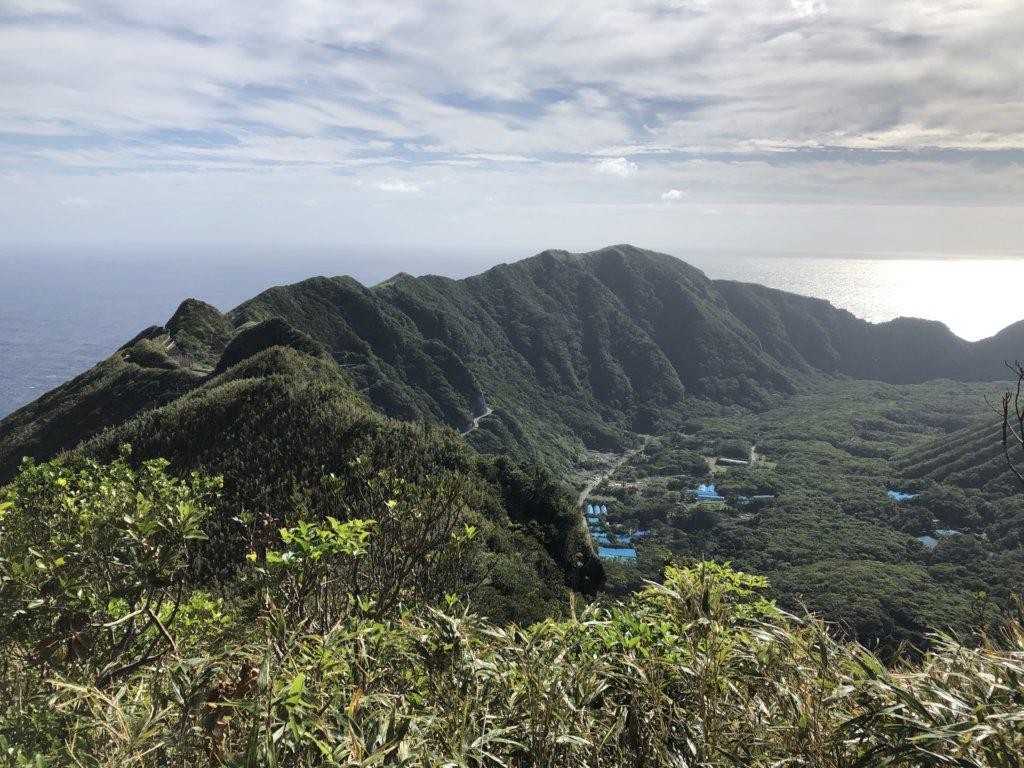大里神社からの外輪山