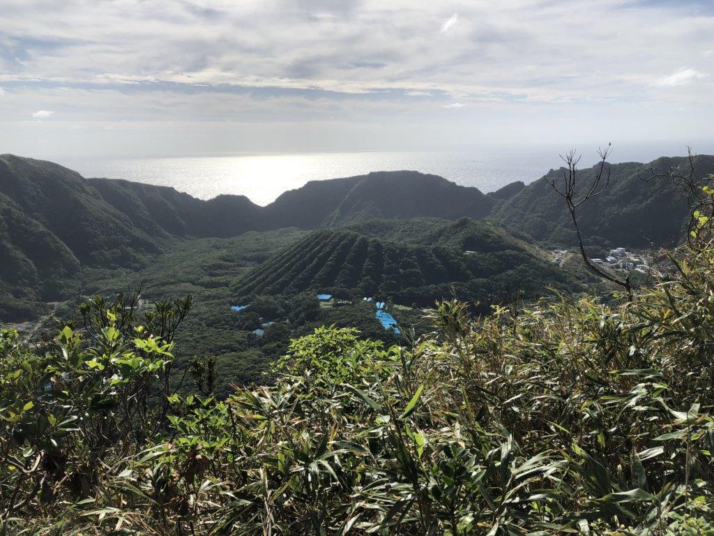 大里神社からの内輪山