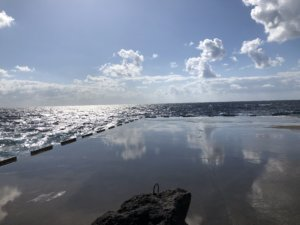 海なのか空なのか