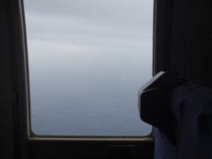 ヘリコプターの窓から①