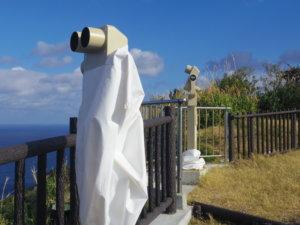 脱げている望遠鏡