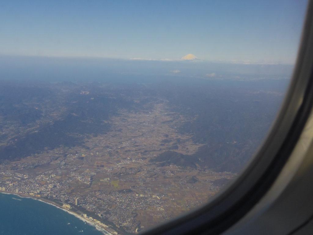 飛行機の窓から⑥