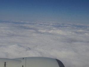 飛行機の窓から②