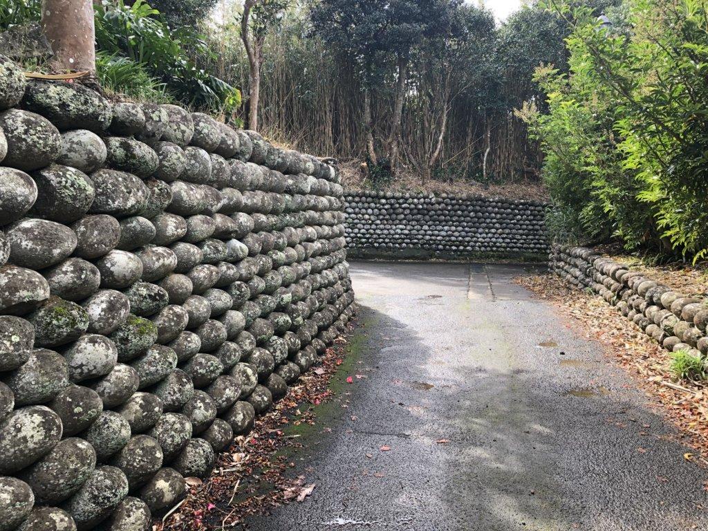 玉石垣の路地