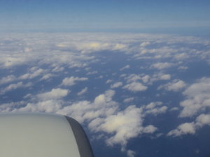 飛行機の窓から③