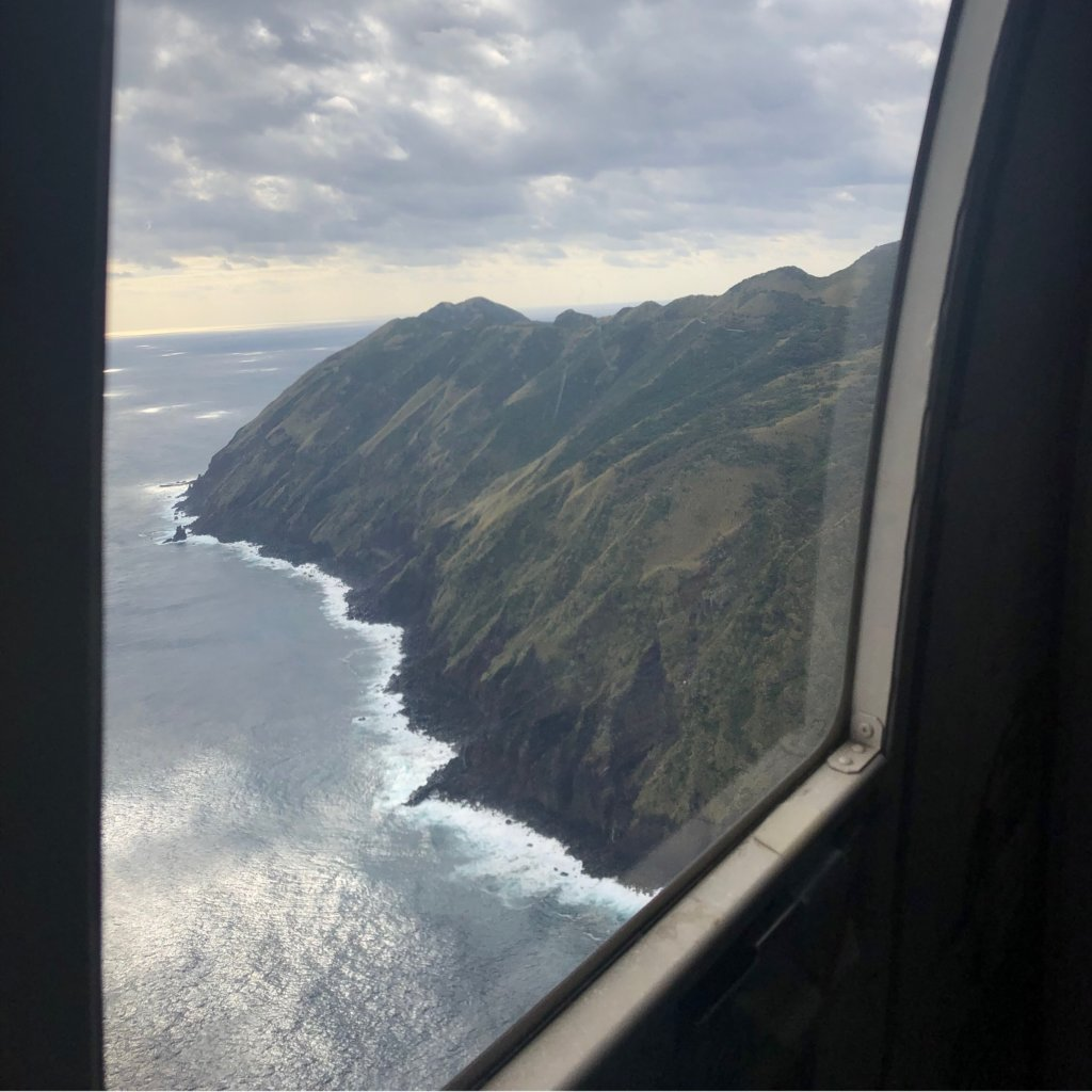 ヘリコプターの窓から③
