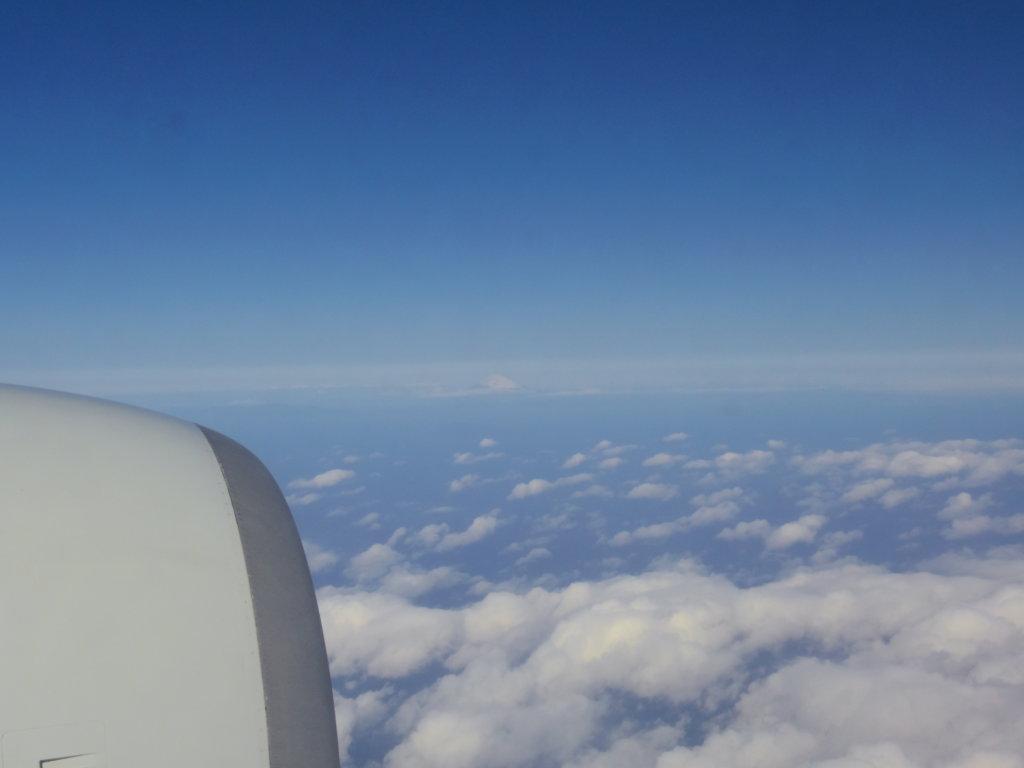 飛行機の窓から④