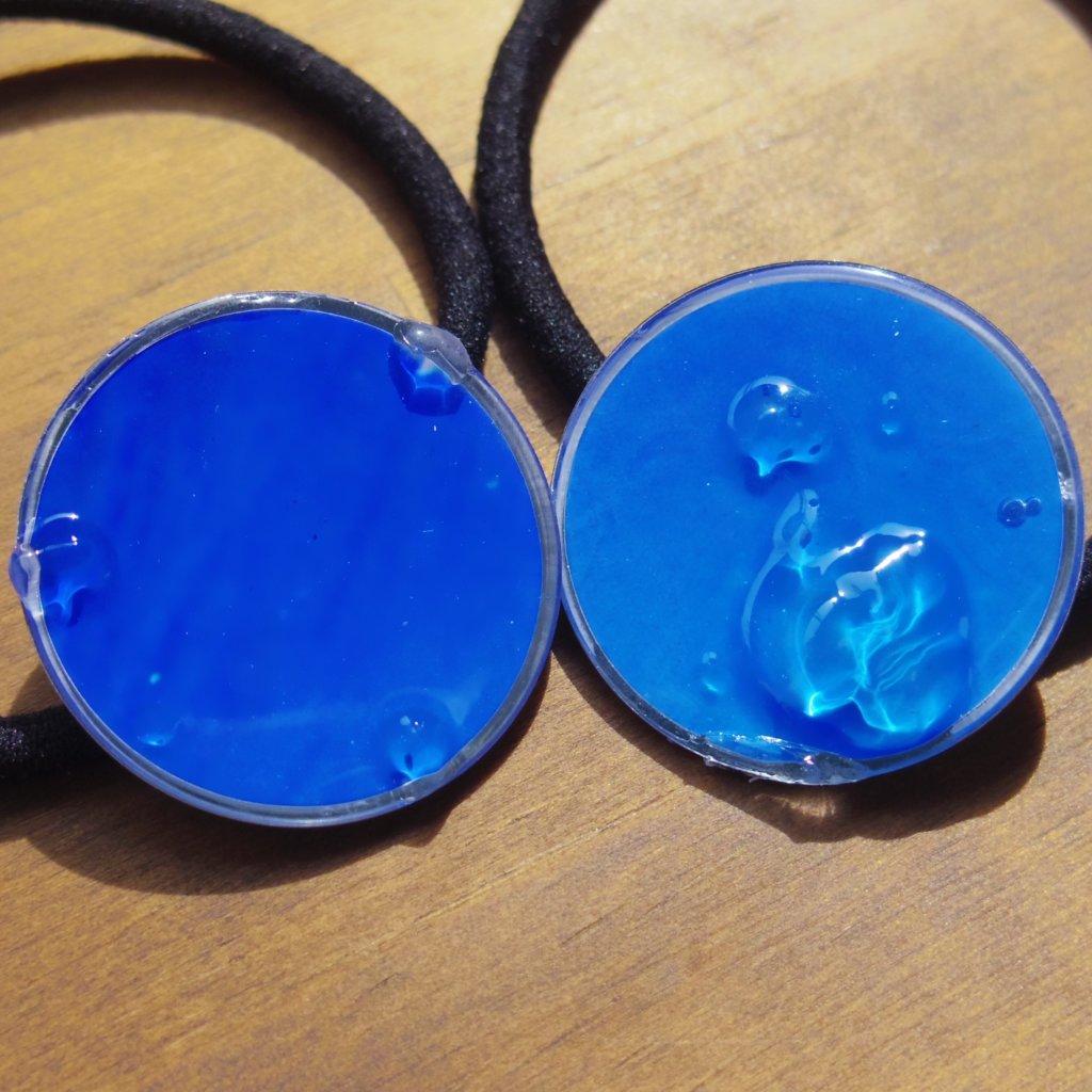 aogashima blue ヘアゴム②
