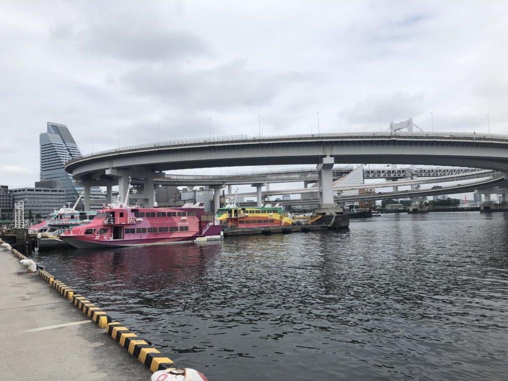 レインボーブリッジと高速船①