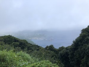 登龍峠の展望