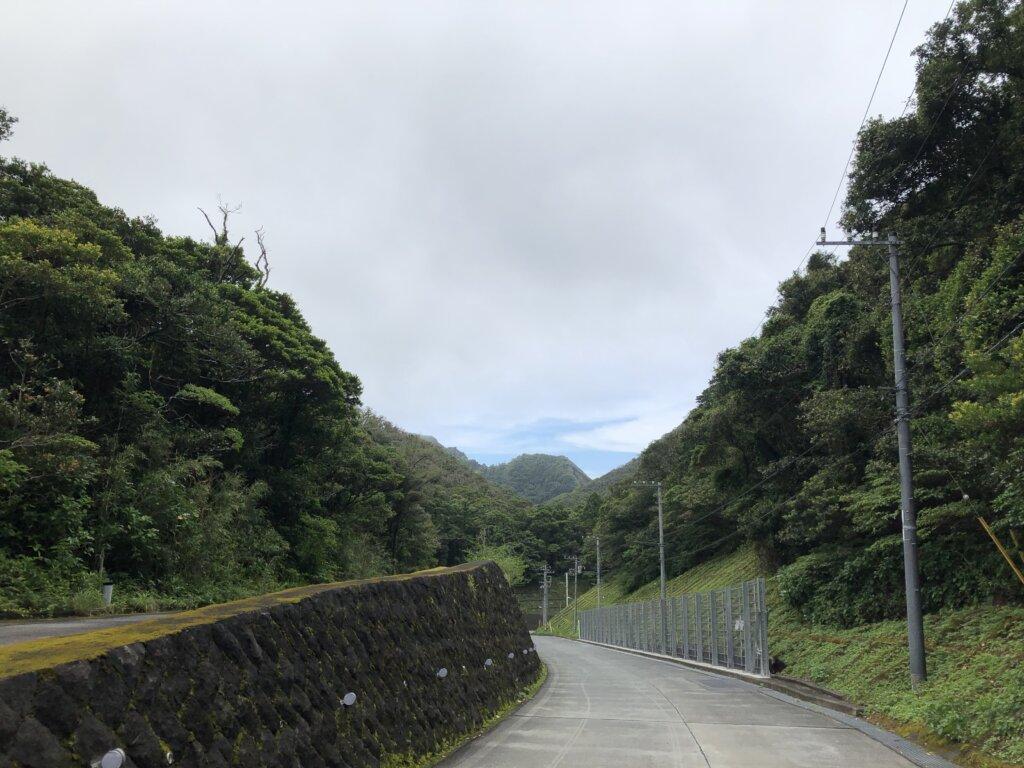 青ヶ島本道
