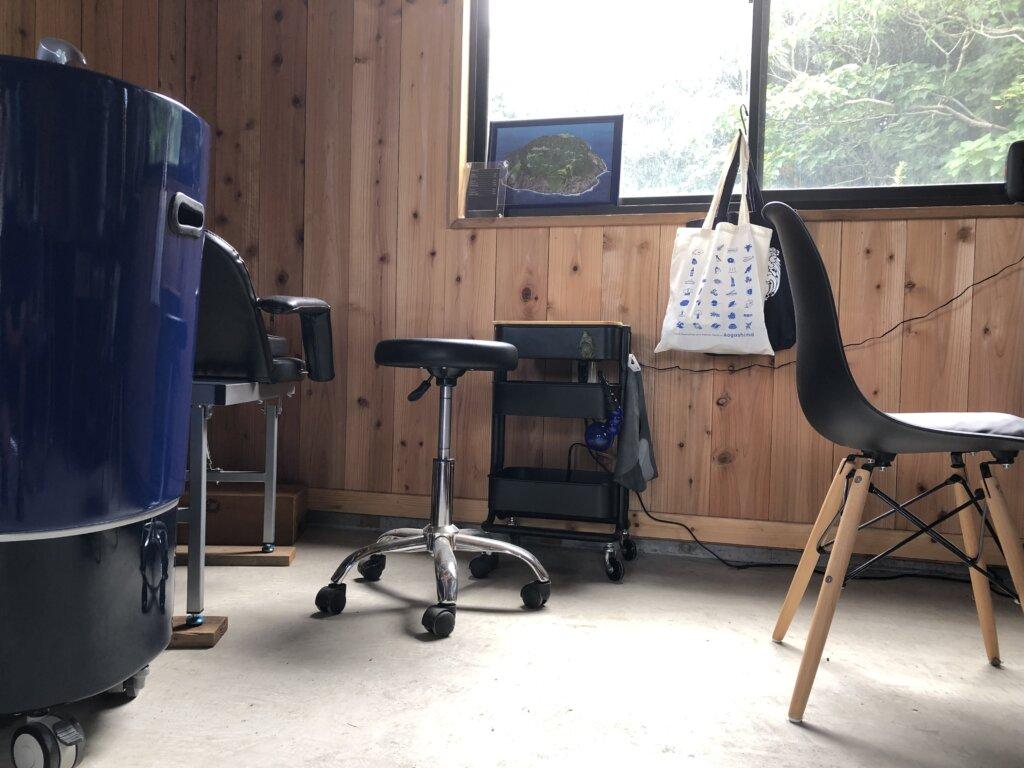 青ヶ島の美容室